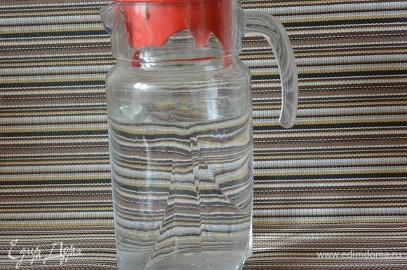 Фильтруем воду для айрана.