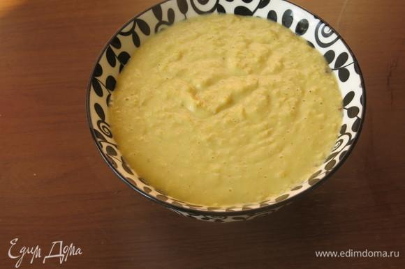Подаем, полив маслом, с зеленью и зернами кукурузы. Сверху образуется корочка, под которой нежный супчик. Приятного аппетита!