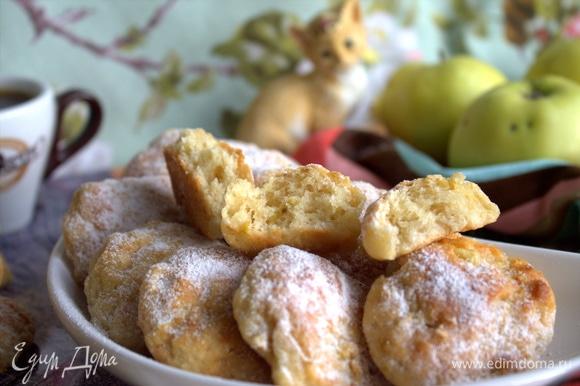 Печенье остается мягким и при остывании.