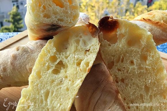 Отличный хлеб! Хрустящая корочка и прекрасный мякиш!