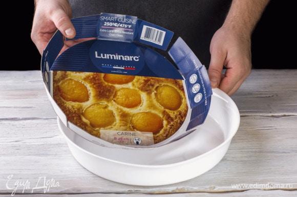 Возьмите форму для запекания Smart Cuisine Carine от Luminarc из жаропрочного стекла.