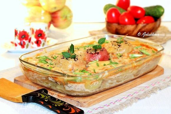 Если у вас нет готовой горчицы с медом, ее можно заменить на столовую горчицу + по вкусу мед и перемешать.