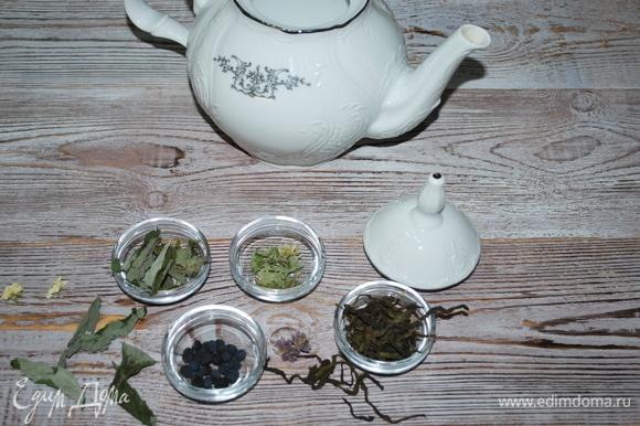 Иван-чай, мяту, цветы жасмина, лофант — все это я заготовила летом.