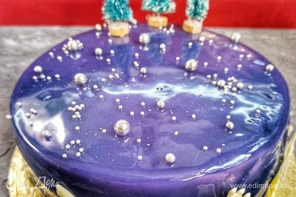 Украшаем торт на свой вкус!