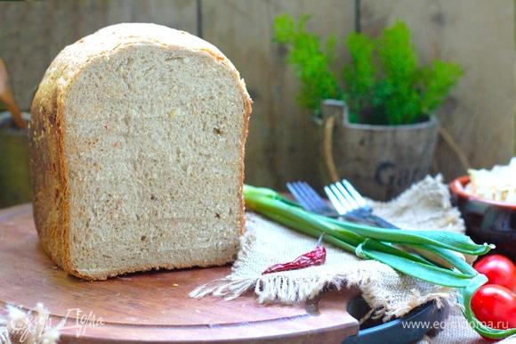 Для меда и варенья такой хлеб не подойдет, а для супа-борща — в самый раз!