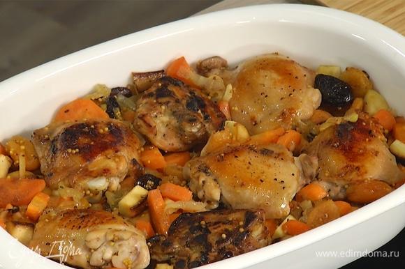 Запекать в разогретой духовке 30–40 минут до готовности.