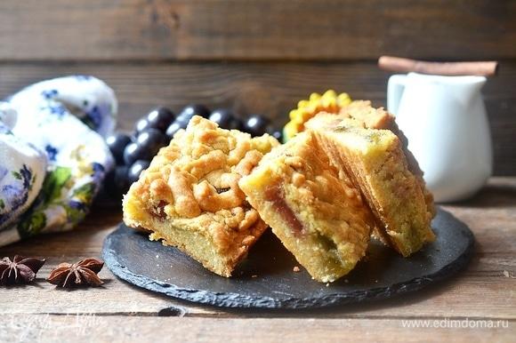 Очень хрустящее печенье к домашнему чаепитию. Приятного аппетита!