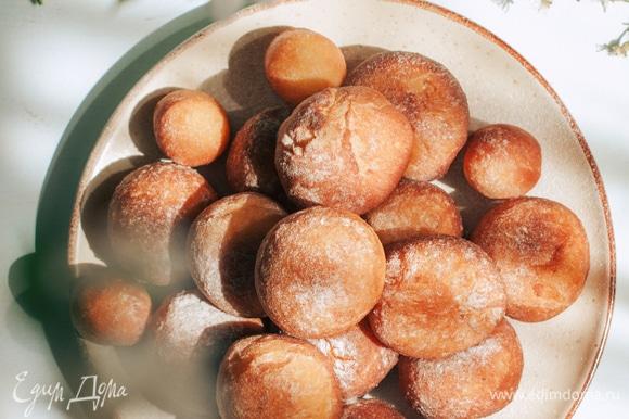 Перед подачей посыпать сахарной пудрой. Приятного аппетита!