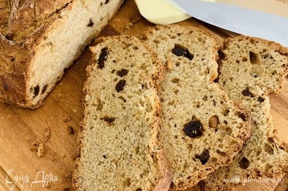 Ломтик хлеба, слегка подогретый в тостере, со сливочным маслом — и доброе утро вам обеспечено! Приятного аппетита!