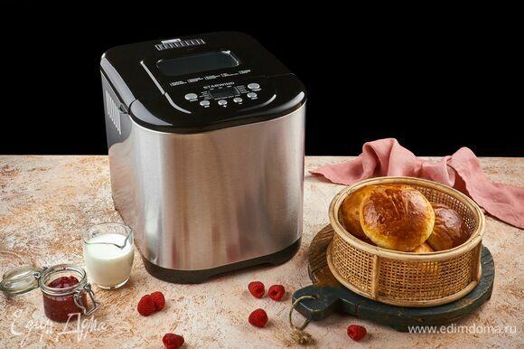 Готовые булочки остудите и подавайте к чаю или стакану теплого молока. Приятного аппетита!