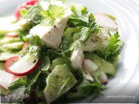 Летний дачный салат