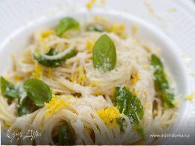 Лимонные спагетти