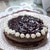 Маковый торт с вареньем и взбитыми сливками