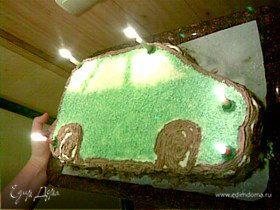 "Торт ""Джип"""