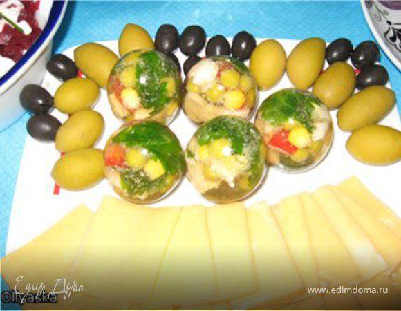 Яйца заливные