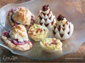Десерт из лука
