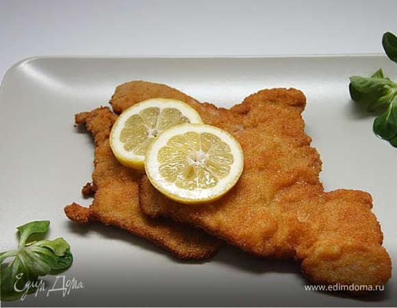 Рыба в сухарях