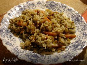 Машкичири (каша из маша и риса)