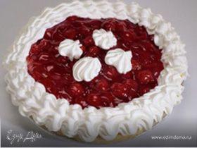 Слоеный пирог с черешней
