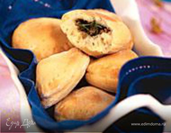 Пирожки с начинкой из сердца индейки