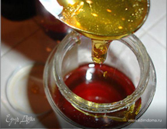 Лапша с медовым соусом