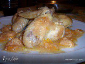 Крылышки в мандаринах