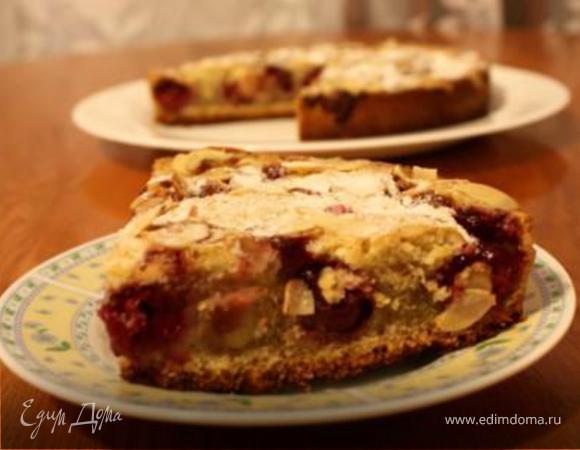 Пирог с вишней по мотивам венского пирога от Юлии Высоцкой