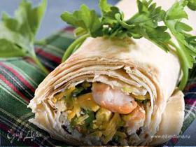 Сэндвич в мексиканском стиле