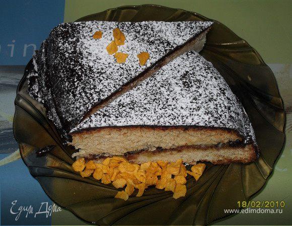 """Торт """"Медовик в шоколадной глазури"""""""
