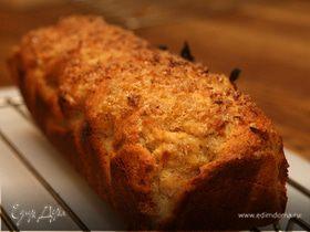 Банановый хлеб с изюмом и орехами