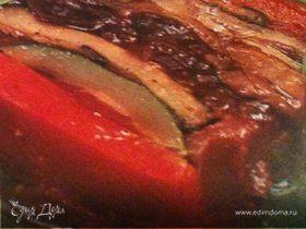 Террин из овощей гриль