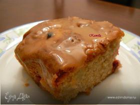 Грушево-клюквенный пирог