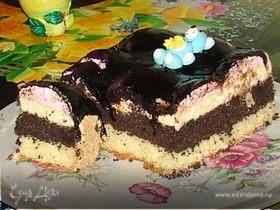 "Торт маковый ""Ракушка"""