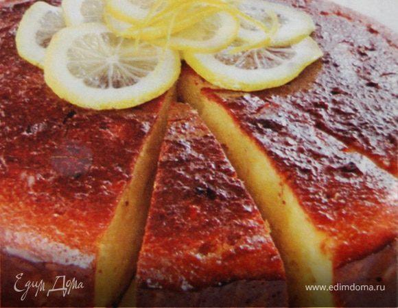 """Миндальный торт""""Лимончелло"""""""
