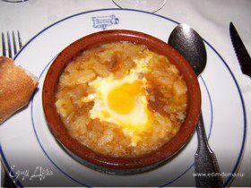 Суп чесночный по-мадридски
