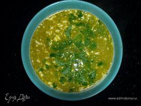 Суп из красной чечевицы с брокколи