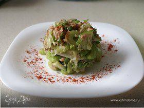 Легкий салатик с тунцом