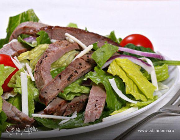 рецепт салат из телятины
