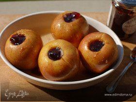 Запеченные яблоки с коричневым сахаром