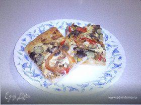 Постная пицца 2