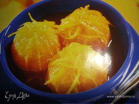 """Апельсины в карамели""""Солнышко"""""""