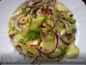 Салат из молодых кабачков (или цукини)