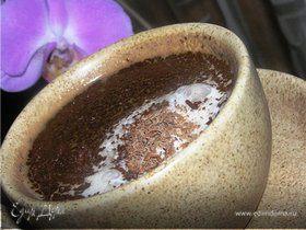 Горячий кофе с шоколадом