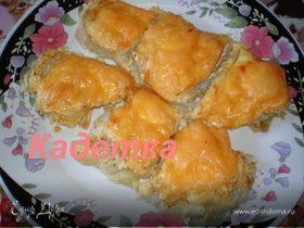 Рыба, запеченная под сыром