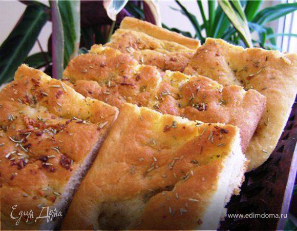 Чесночно-розмариновый хлеб