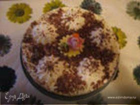Торт без выпечки (зефирный)
