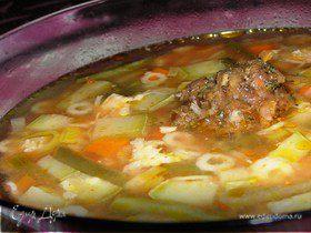 """Овощной суп """"Провансаль"""""""