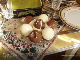 Творожно-шоколадные яйца
