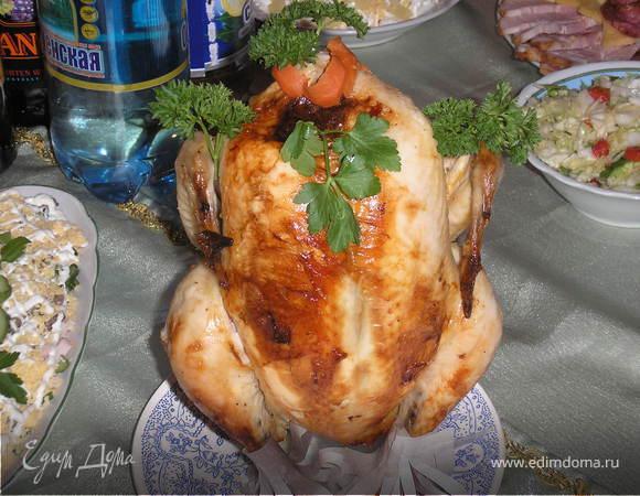 Моя фирменная курица