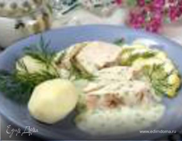 Курица в укропном соусе